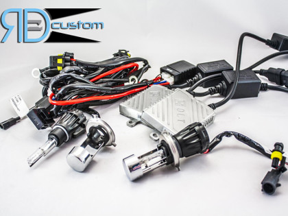 RD Custom: RD HID CANBUS H4 per Jeep Renegade