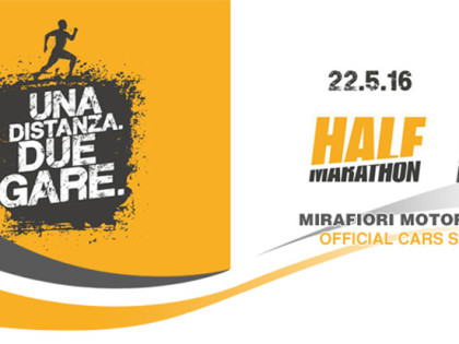 Mirafiori Motor Village Official Cars Suppliers della Half Marathon