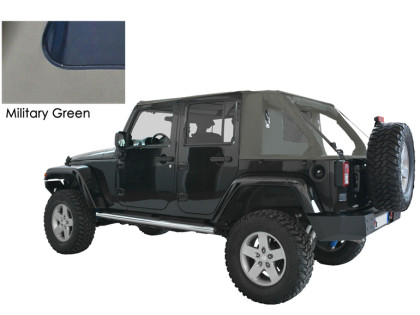 SUNTOP: Cargo Top U4 MG per Wrangler Unlimited
