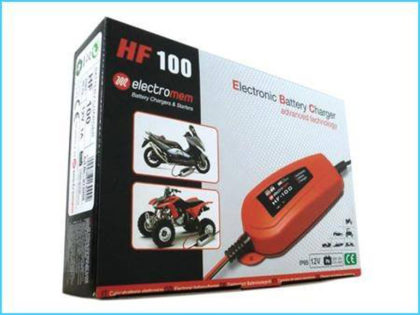 YourBattery: electronic battery charger HF 100