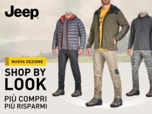 "Jeep® Outfitter: nuova sezione ""Shop by Look"""