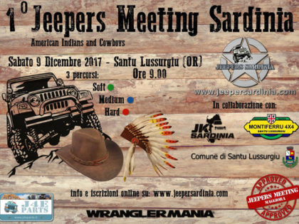 1° Jeepers Meeting Sardinia