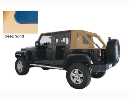 Suntop: Cargo Top U4 – Deep Sand per JK Unlimited