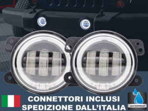 EagleOffRoad: coppia fari fendinebbia LED con Angel Eye