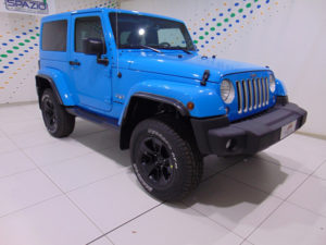 SPAZIO Group: Jeep Wrangler MY17 Sahara a 44.900 euro