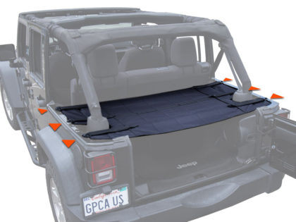 EagleOffRoad: Cargo Cover Pro per Wrangler Unlimited