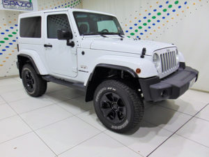 SPAZIO Group: Jeep Wrangler MY17 Sahara a 43.900 euro
