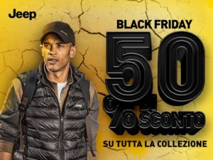 Jeep Outfitter®: Black Friday fino a domenica 25/11