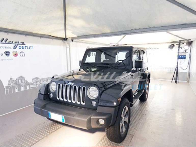 MOTOR VILLAGE OUTLET: JEEP WRANGLER SAHARA MY2017