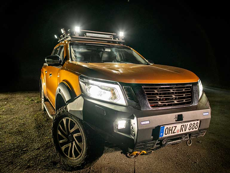 OSRAM Cube MX85 SP faro LED offroad