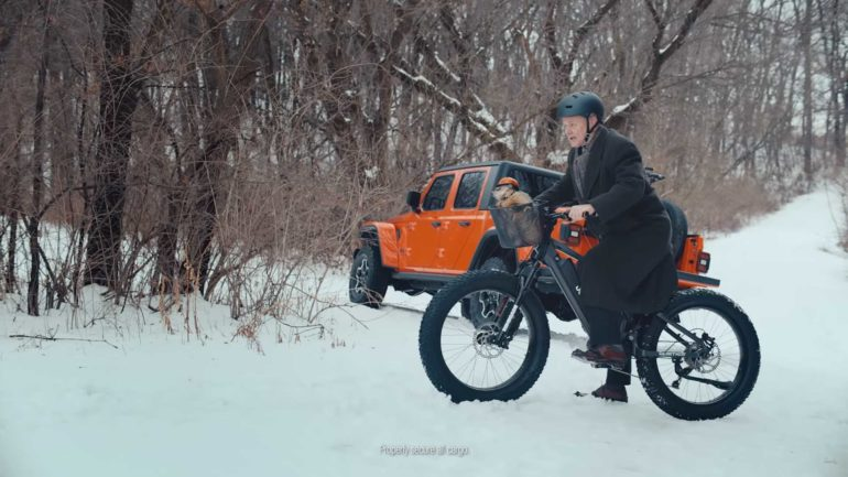 jeep e-bike giorno marmotta bill murray